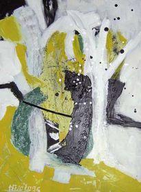 Abstrakt, Konstruktion, Malerei