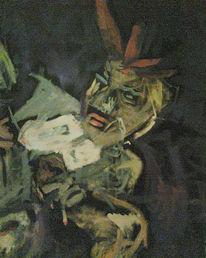 Rauchen, Malerei, Sucht, Entstehung