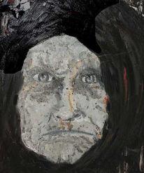 Vergewaltung, Ölmalerei, Gegenständlich, Figural