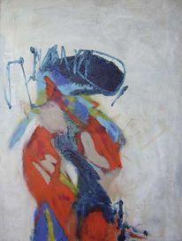 Acrylmalerei, Abstrakt, Malerei, Feuervogel