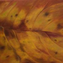 Blätter, Natur, Herbst, Braun