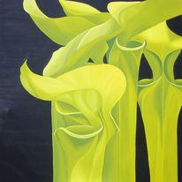 Realismus, Pflanzen, Malerei, Garten