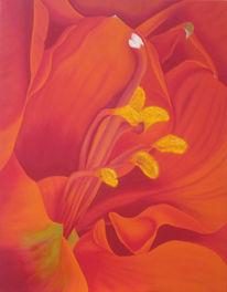 Realismus, Garten, Malerei, Blumen