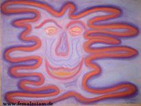 Malerei, Figural, Gesicht