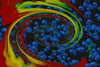 Farben, Gelb, Abstrakt, Digital