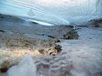 Gefroren, Gletscher, Himmel, See