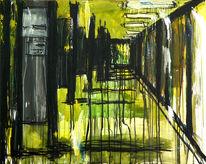 Licht, Bewegung, Abstrakt, Malerei