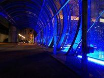 Beleuchtung, Fotografie, Regen, Blau