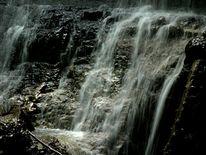 Wasserfall, Landschaft, Dunkel, Fotografie