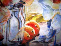 Alkohol, Acrylmalerei, Orange, Milch