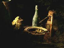 Flasche, Stimmung, Grün, Fotografie