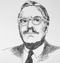Brille, Schwarz weiß, Zeichnung, Skizze
