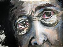 Portrait, Gesicht, Skizze, Augen