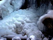 Gefroren, Lainbach, Eis, Wasser