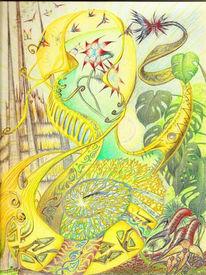 Psychedelisch, Zeichnungen, Traum,