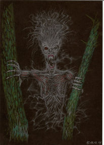 Horror, Gespenst, Grusel, Zeichnungen