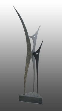 Skulptur, Eisen, Abstrakt, Abzocker