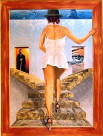 Leben, Zeit, Acrylmalerei, Malerei