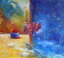 Armut, Acrylmalerei, Malerei, Leben