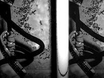 Schwarz weiß, Abstrakt, Fotografie, Krise