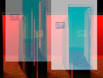 Ende, Gefangen, Digital, Abstrakt