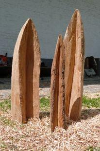 Holz, Objekt, Plastik, Abstrakt