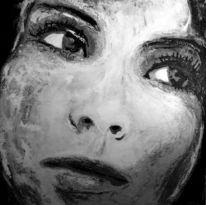 Frau, Blick, Gesicht, Augen