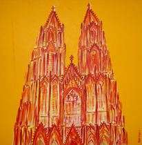 Kölner, Köln, Orange, Dom