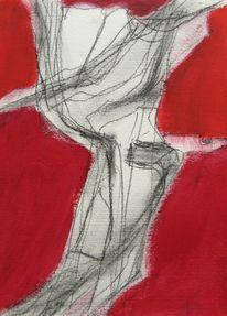 Serie, Acrylmalerei, Abstrakt, Weihnachten