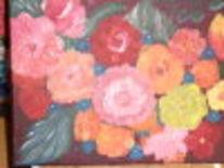 Malerei, Blumen, Pflanzen