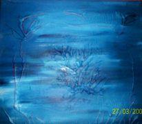 Série, Acrylmalerei, Bleuen, Dekalk