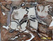 Struktur, Abstrakt, Marmormehl, Sand