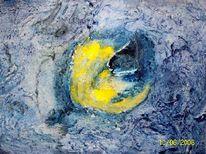 Informel, Marmormehl, Generation, Acrylmalerei