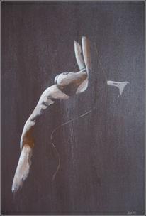 Akt, Malerei, Acrylmalerei,