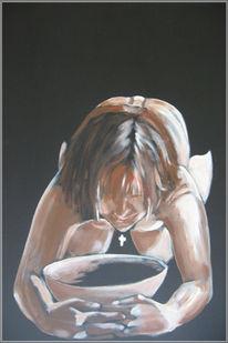 Malerei, Acrylmalerei, Akt,