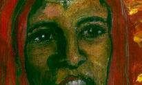 Malerei, Figural, Überleben, Angst