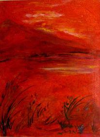 Traum, Landschaft, Reduktion, Seele