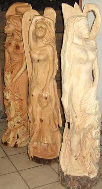 Kettensägekunst, Fee, Engel, Elfen
