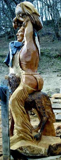Falke, Indisch, Freiheit, Holz