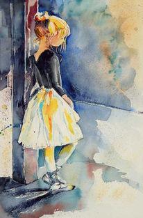 Zart, Malerei, Ballerina
