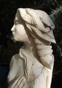 Holz, Plastik, Venus, Skulptur