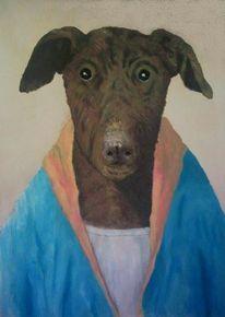 Streetart, Malerei, Hund