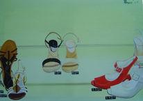 Zeit, Frau, Glück, Schuhe