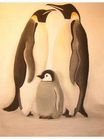 Pinguin, Zeichnungen, Tiere