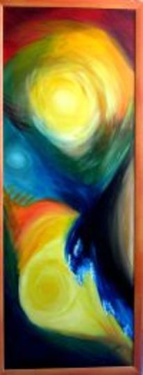 Malerei, Abstrakt, Elemente, Wasser