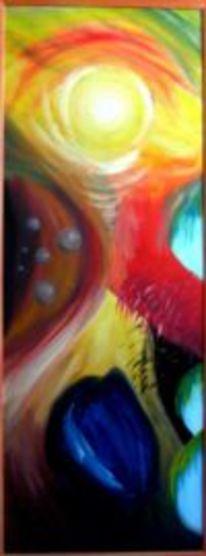 Feuer, Erde, Elemente, Malerei
