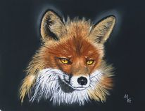 Rotfuchs, Figural, Fuchs, Tiere