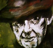 Mann, Figural, Malerei, Acrylmalerei