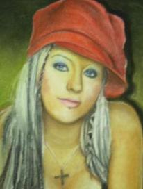 Farben, Malerei, Portrait, Figural