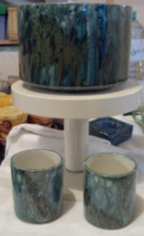 Malerei, Keramik, Series